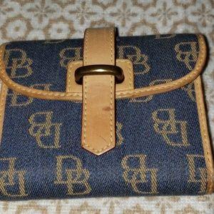Dooney & Bourke Denim Wallet